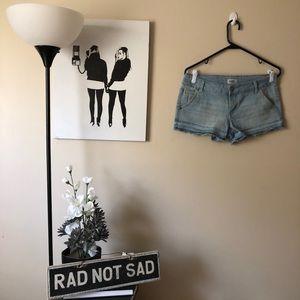 🌸Celebrity Pink Jean Light wash jean Shorts